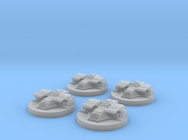 Star Destroyer Turret x4 3d printed