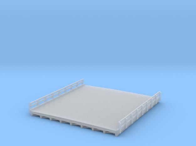 N-Scale Highway Bridge 3d printed