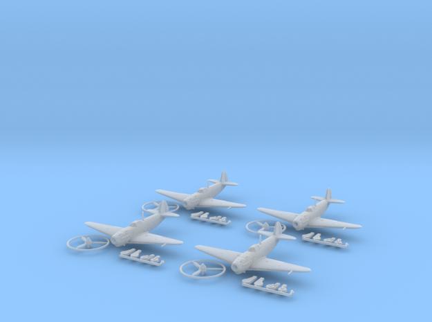 1/200 Yakovlev Yak-1b (x4) 3d printed