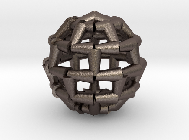 Brick Sphere 4 3d printed