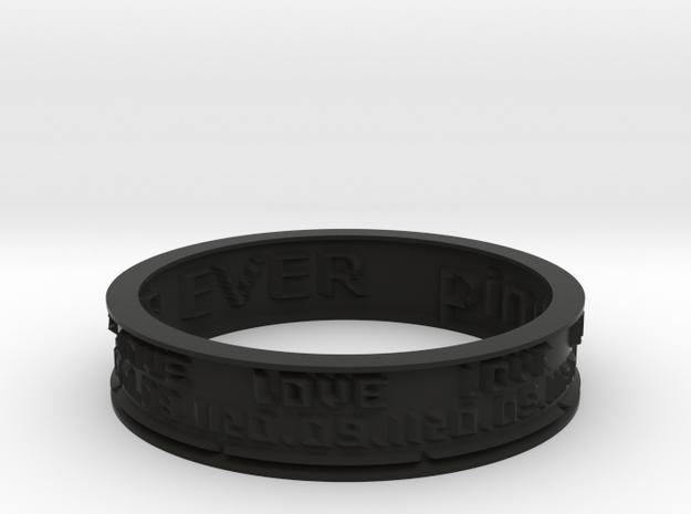 by kelecrea, engraved: pinpin + nanou FOR EVER 3d printed