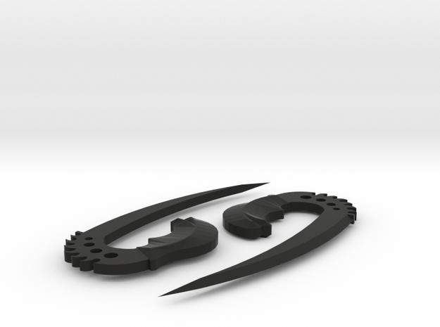 saberclaws 3d printed