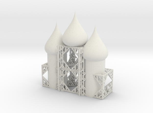 beta cube cathedral 3stacked spiral staircase 3d printed