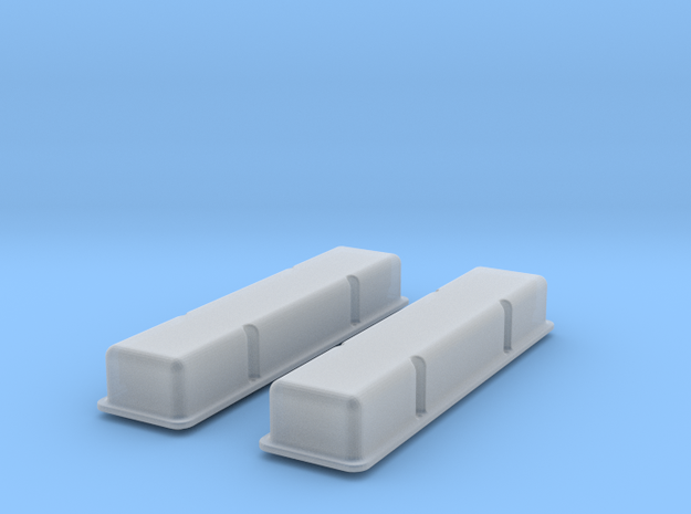 1/16 SBC Smooth Valve Covers 3d printed