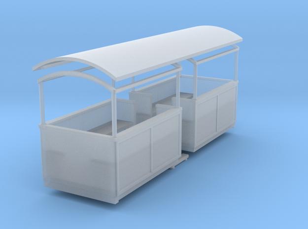 009 Small semi-open coach centre entrance 3d printed