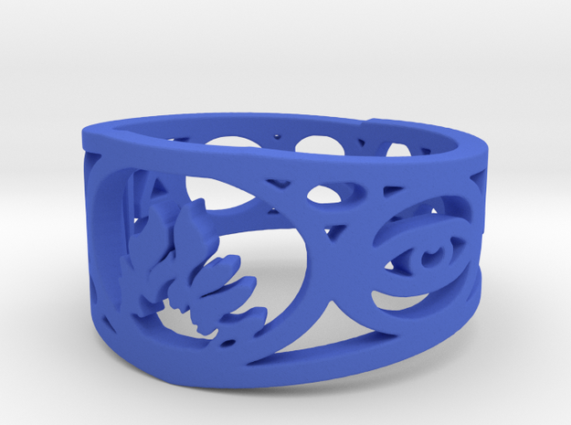 Divergent Ring Size 7 3d printed