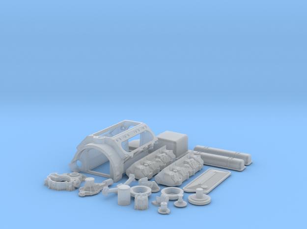 1/12 Scale Buick Nailhead Basic Block Kit 3d printed