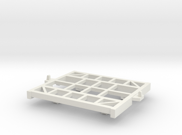 HOn30 Cane bin 4t chassis 3d printed