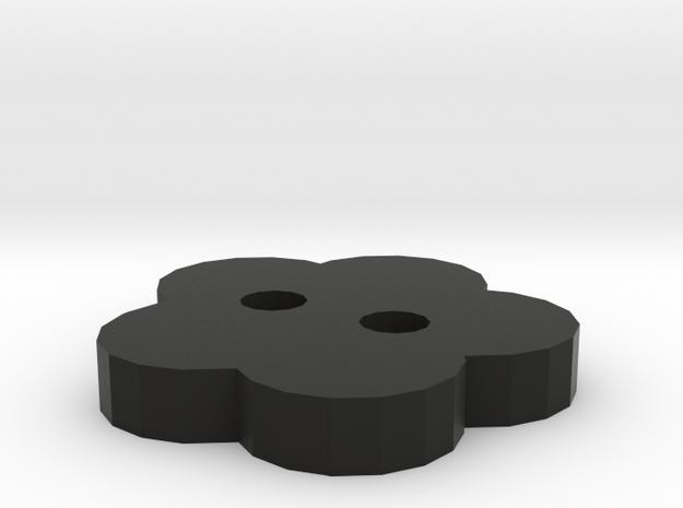 Flower Button stl 3d printed