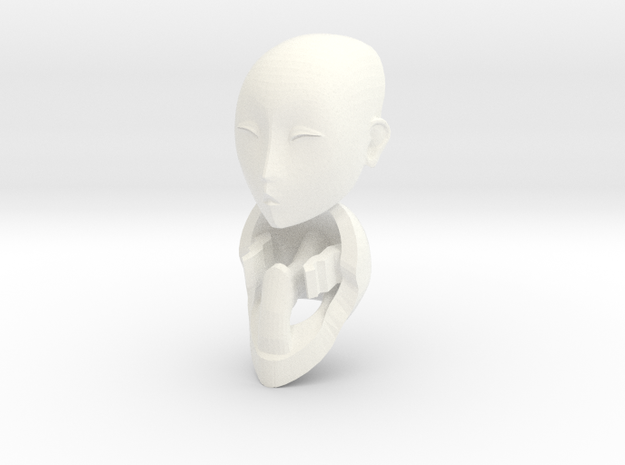 1/6 scale Alter Ego doll head 3d printed