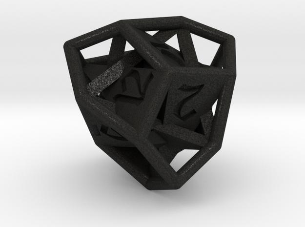 d12 tetartoid 3d printed