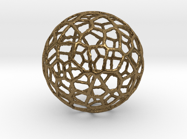 Alien Sphere Small (3cm) 3d printed