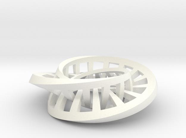 Interlocking Möbius Ladders 3d printed