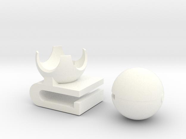 Pokeball 3DS Cart Holder- Assembled, BETA 3d printed