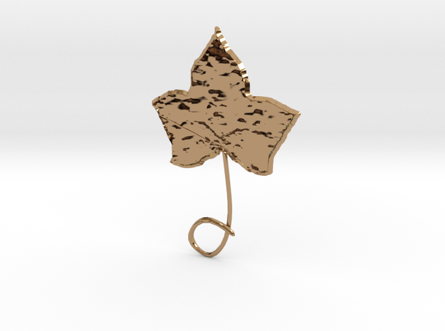 Ivy Necklace Orniment 3d printed