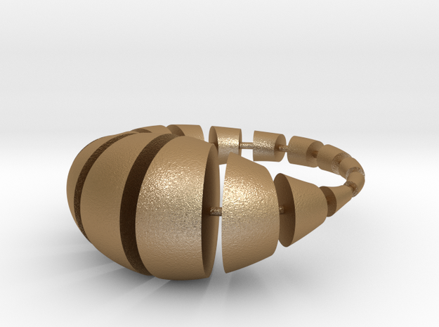 segmentwurst 3d printed