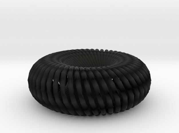 27torusknot braid scale 3d printed