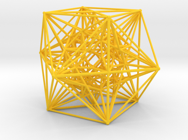 Inversion of Cuboctahedra 3d printed