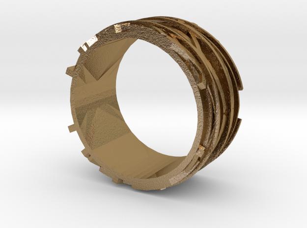 Birdnest Ring 3d printed