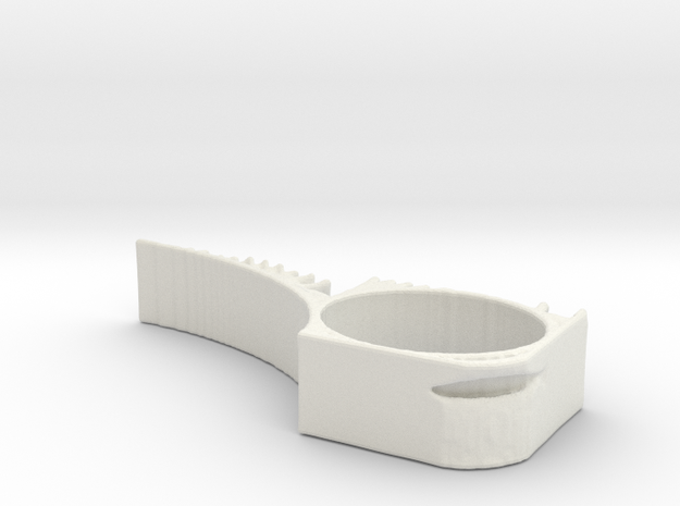 TopOpt DoorStop 2 in White Natural Versatile Plastic