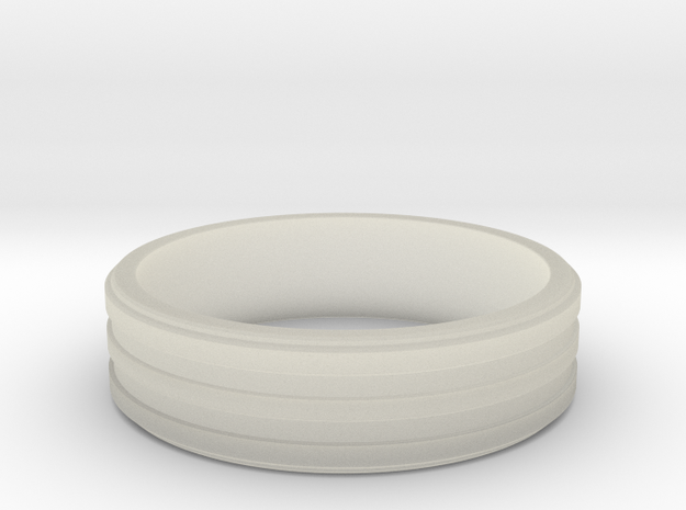 Three Band Ring size 23 3d printed