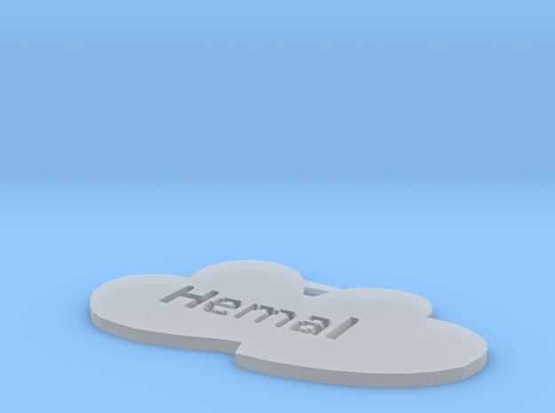 by kelecrea, engraved: Hemal 3d printed