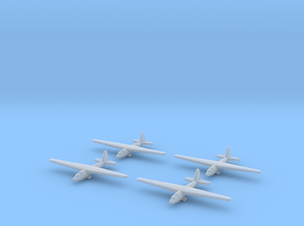 Aeronautica Lombarda AL-12P (x4) 1/700 (Italian) 3d printed