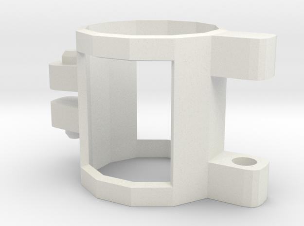 Nerf Bandolier Clip in White Natural Versatile Plastic