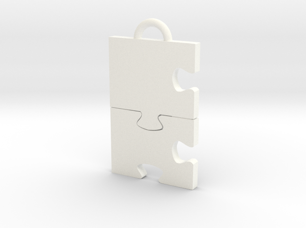 Puzzled! Charm 3d printed