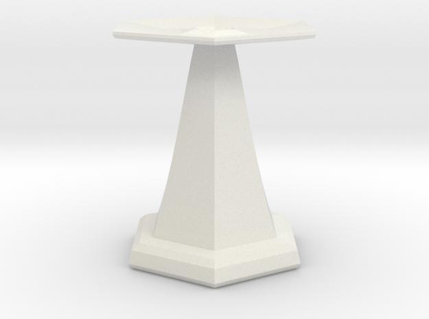 base for sundial in White Natural Versatile Plastic