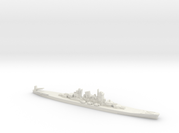 1/3000 Scale Never Were IJN 14500t Cruiser 3d printed