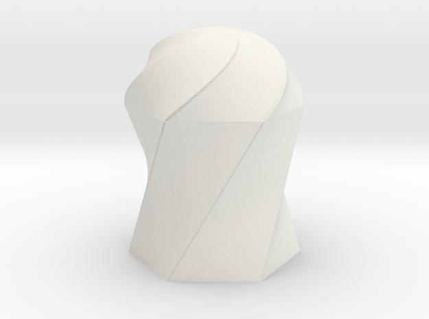twisted HexagonDomeRT 3d printed