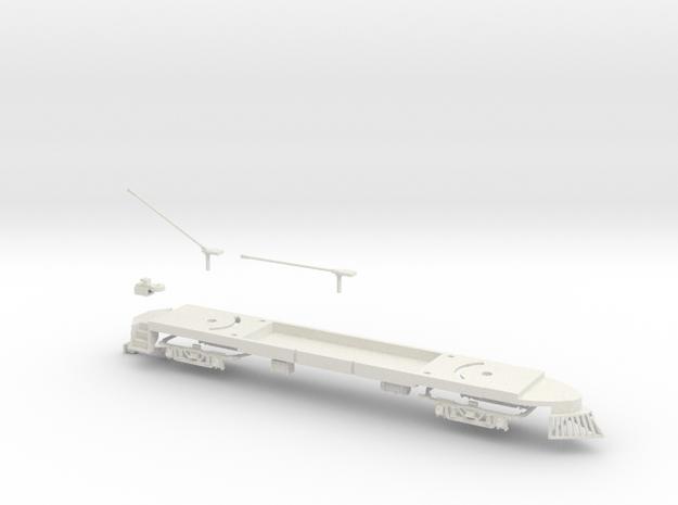 #87-2111 - Windsplitter Frame+Trucks 3d printed