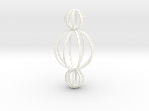 Motive - Spheres triple 3d printed