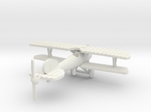 Albatros DV/DVa 1/144th in White Natural Versatile Plastic