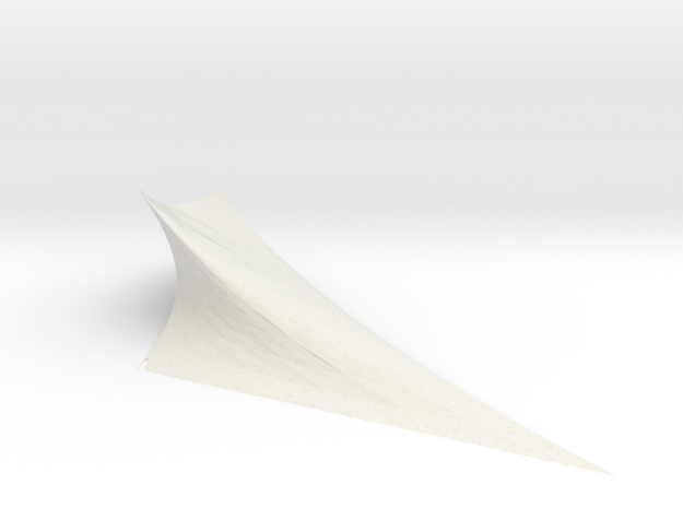 triaxial elliptic quadratic torus 3d printed