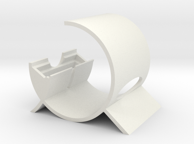 The G - iPhone 4,4s,5 Stand with Parabolic Sound P 3d printed