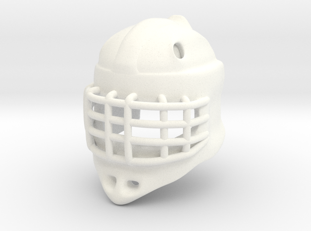 Ice Hockey Golie Helmet (prototype) 3d printed