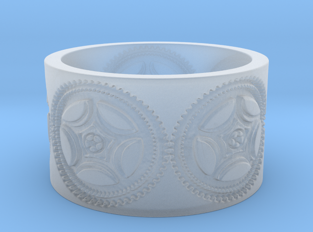 Gears of War Ring Size 10 3d printed