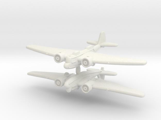 1/600 Martin B-10 (WSF) in White Natural Versatile Plastic