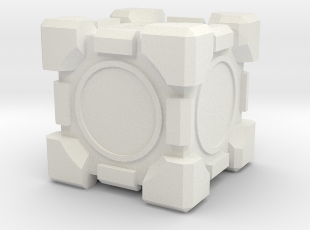 Companion Cube 100x100mm 3d printed