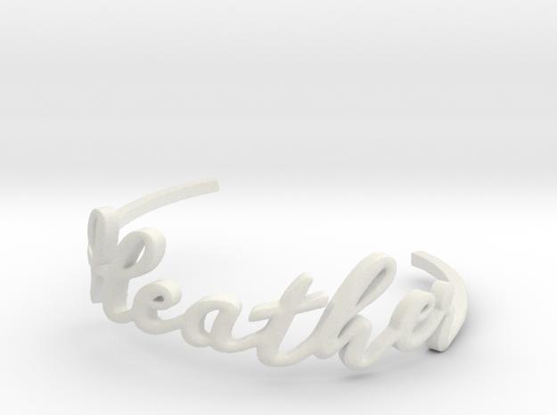 Heather Bracelet 3d printed