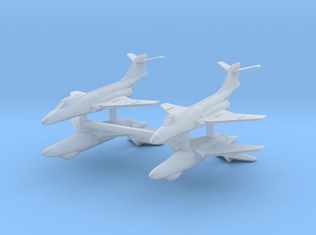 F-101 Voodoo 1:700 x4 3d printed