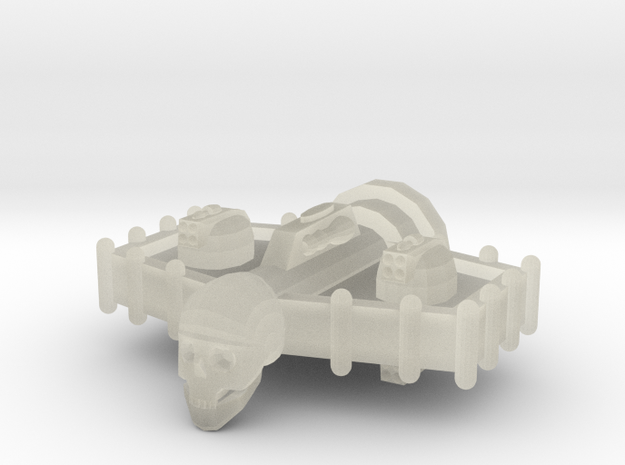 Aotrs104 Hoarfrost Frigate 3d printed