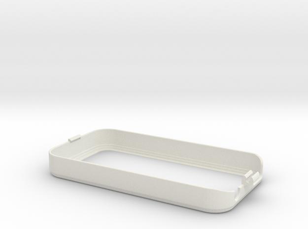 iPhone 4 bike mount (cover) in White Natural Versatile Plastic
