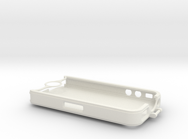 iPhone 4 bike mount (case)  in White Natural Versatile Plastic