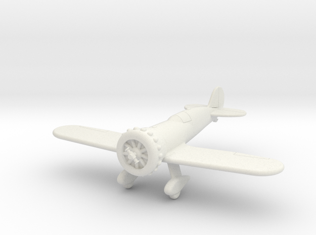 GAAR09 Wedell Williams 57 in White Natural Versatile Plastic