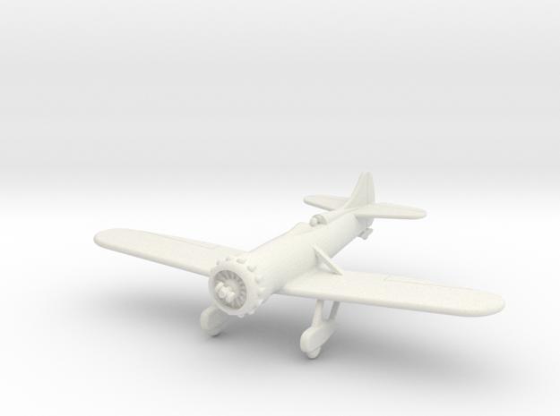 GAAR08 Gee Bee Y 1933 in White Strong & Flexible