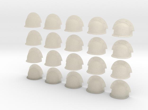 20 Heroic/TrueScale Custom Shoulder Pad Plain Doub