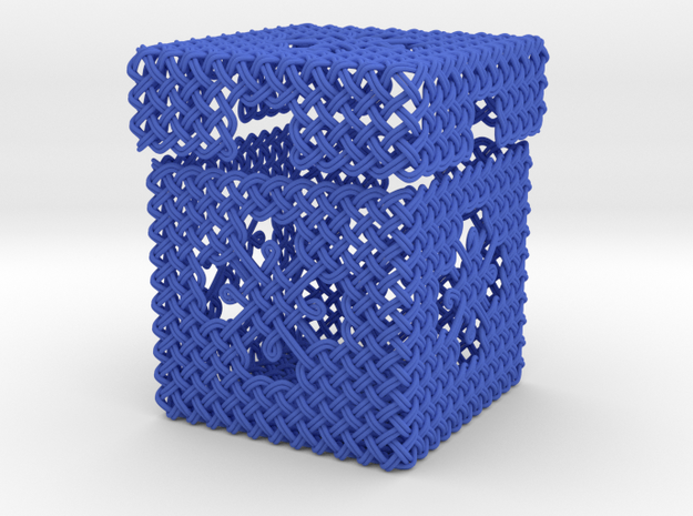 Woven Jewelry Box 3d printed